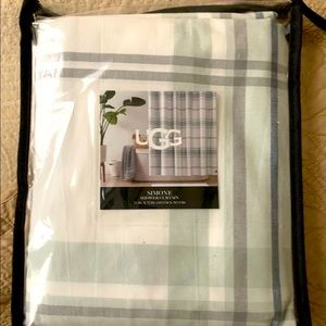 """NEW UGG Simone Shower Curtain. 72x72"""" Great colors"""